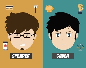 Saver vs Spender